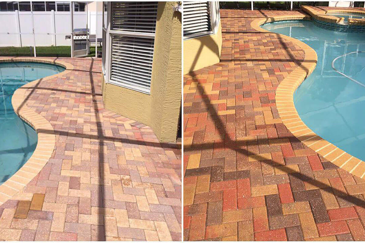 paver sealing Home